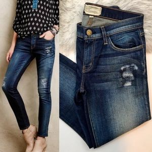 NWOT ⭐️ CURRENT ELLIOT Distressed Stiletto Jean